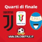Coppa Italia Juventus-Spal